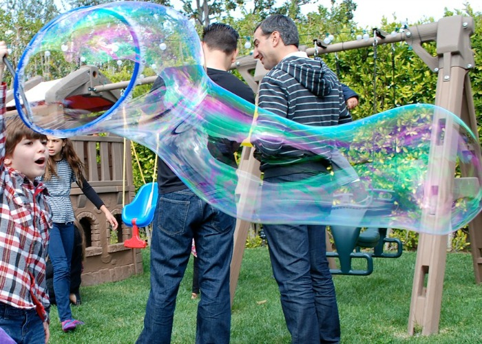 best-bubble-party-outside-big-bubble